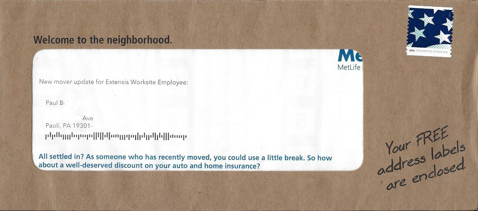 Direct Mail MetLife